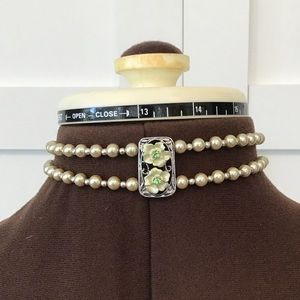 Hand Crafted Beaded Choker